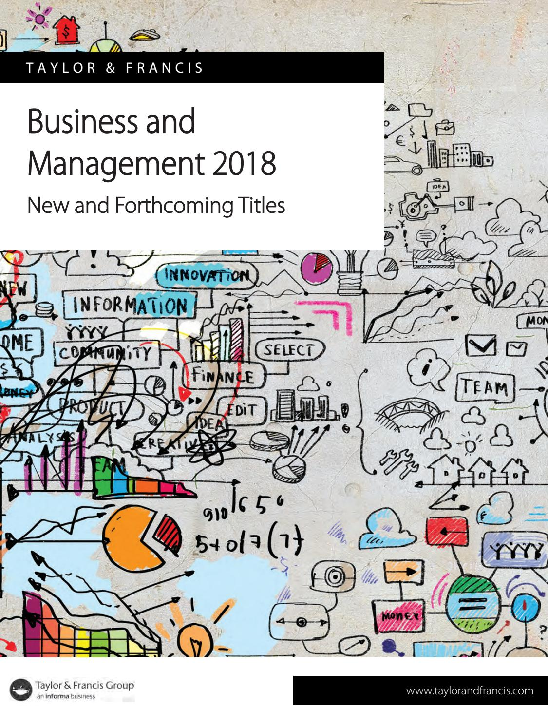 T&f business and management 2018 by SCIENTIFIC BOOKS INFORMATION - issuu