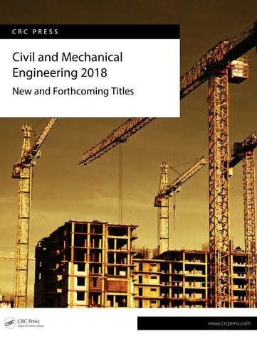 Tf civil and mechanical engineering 2018 by scientific books page 1 crc press civil and mechanical engineering fandeluxe Gallery