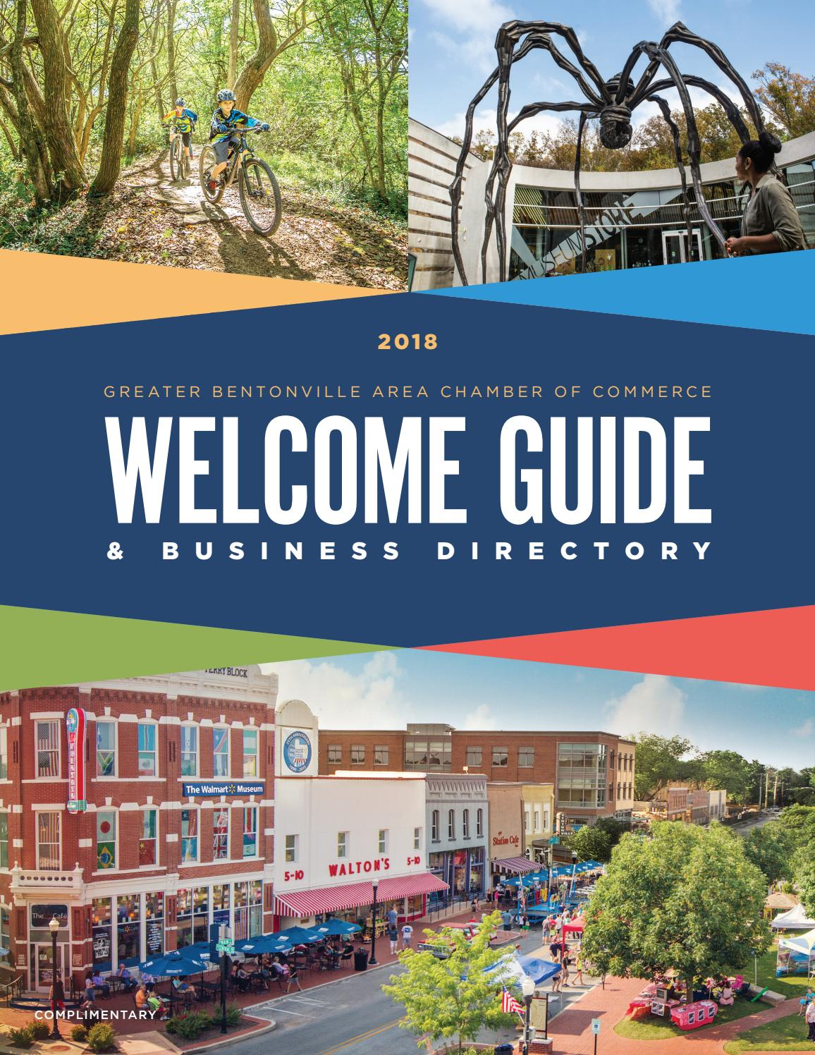 Greater Bentonville Area Chamber of Commerce Welcome Guide ...