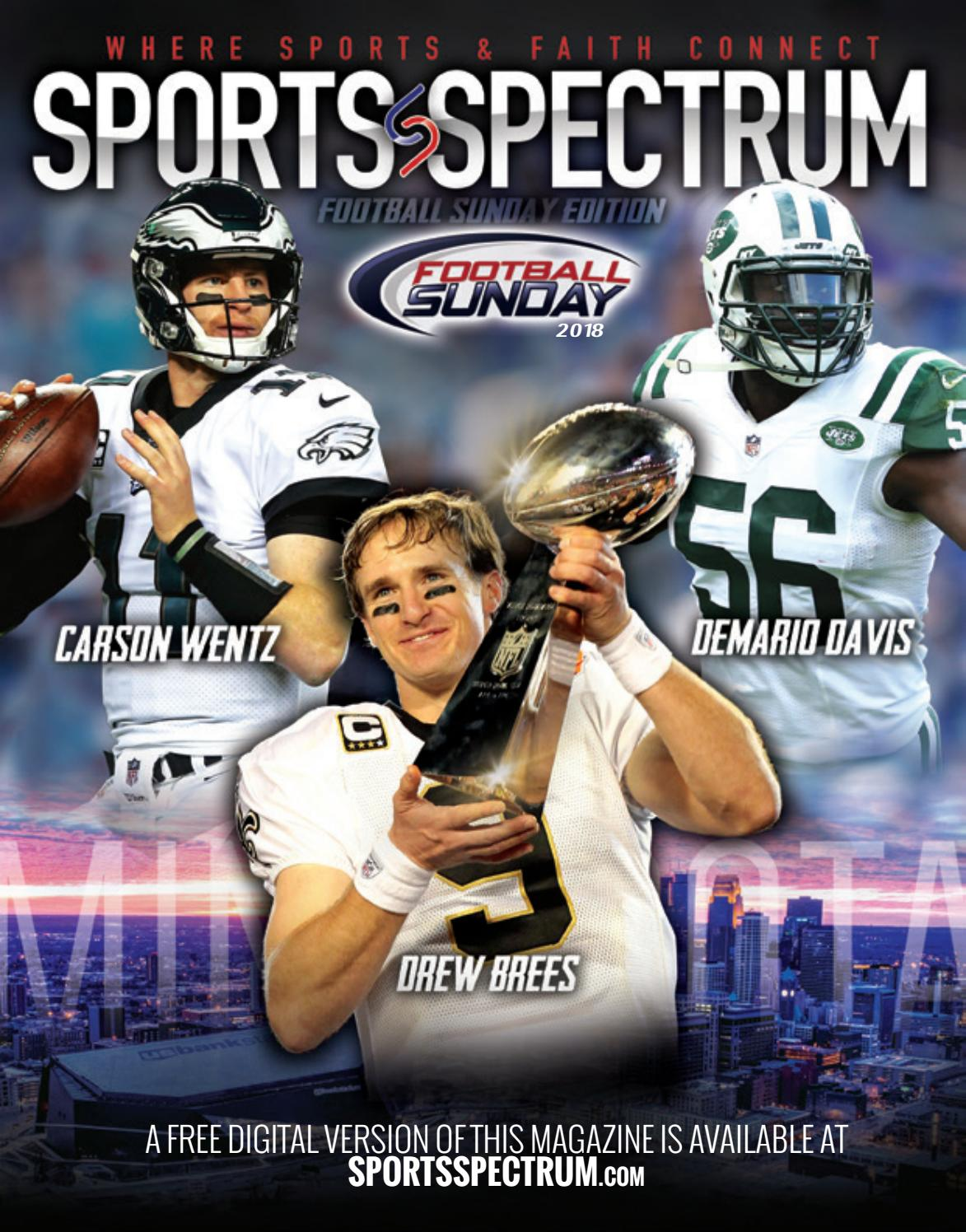 Sports Spectrum: Football Sunday 2018 Special Edition by Sports Spectrum -  issuu