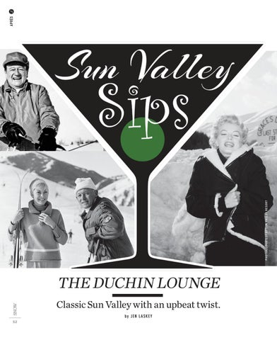 Page 54 of Sun Valley Sips - The Duchin Lounge