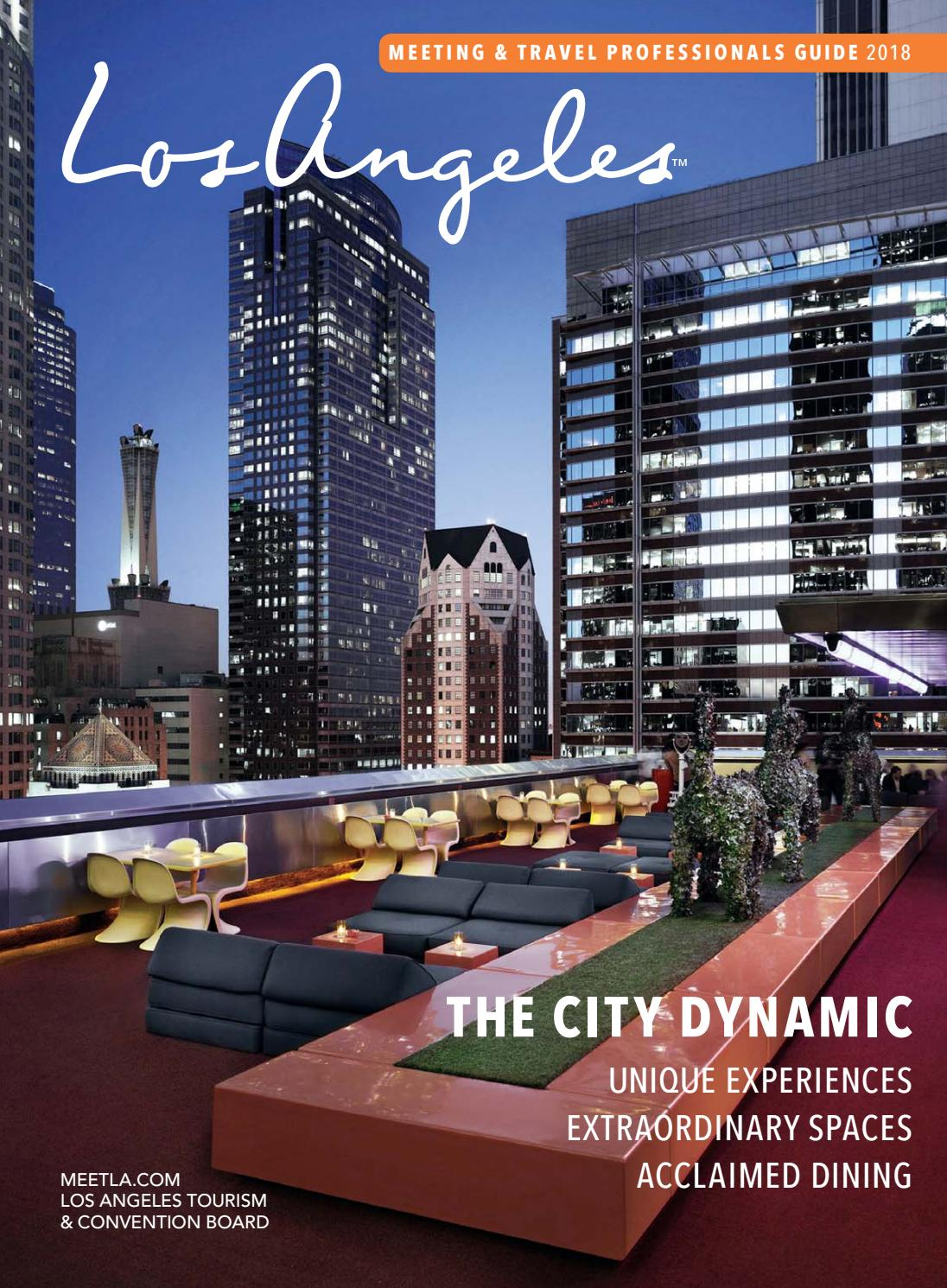 2018 Los Angeles Meeting Travel Professionals Guide By Magazine Custom Publications