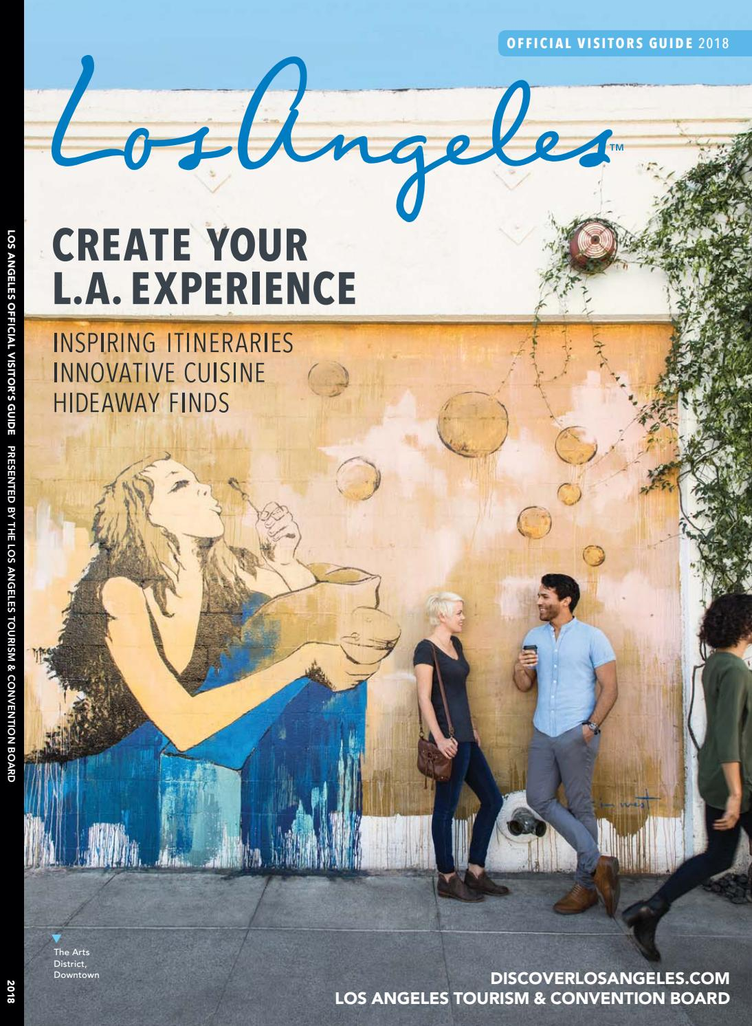 f8dd0f90aefa7b 2018 Los Angeles Official Visitors Guide by LAMCP - issuu
