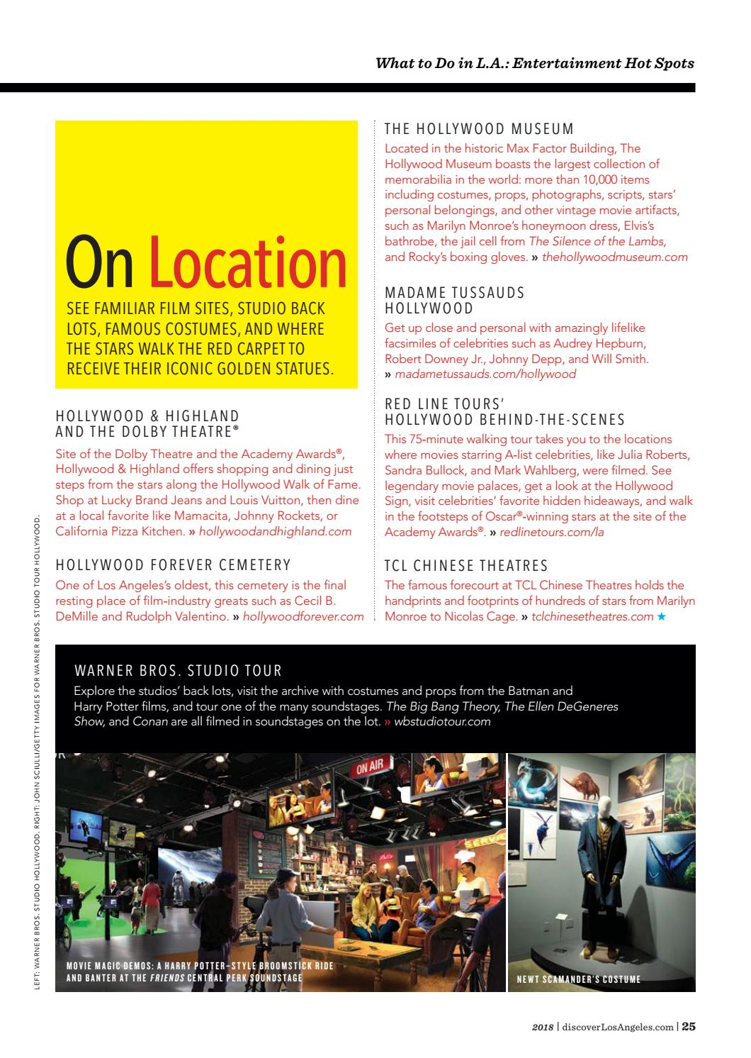 2018 Los Angeles Official Visitors Guide By LAMCP   Issuu