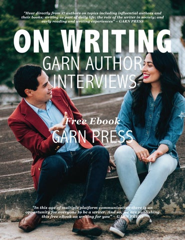 Free ebook on writing garn author interviews pdf by garn press issuu page 1 fandeluxe Image collections