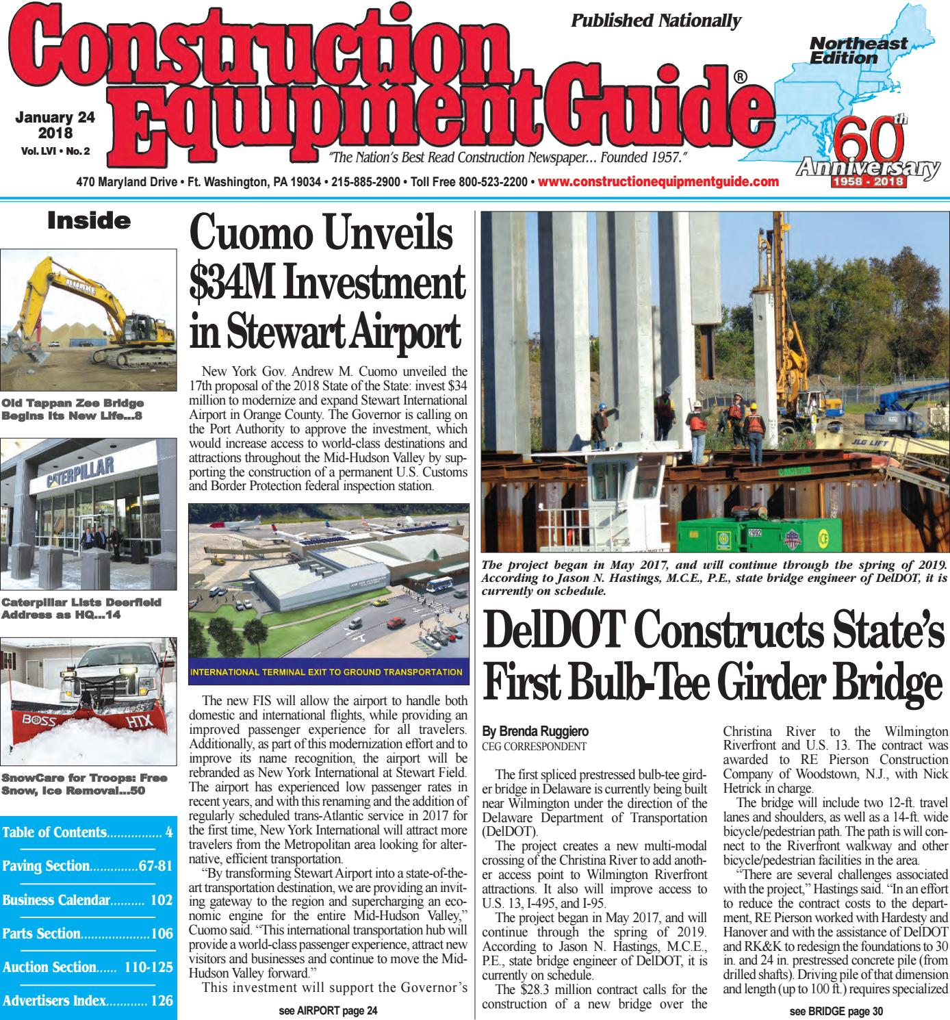 Northeast 2 January 24 2018 By Construction Equipment Guide Issuu Kubota Kx1213 Wiring Diagram