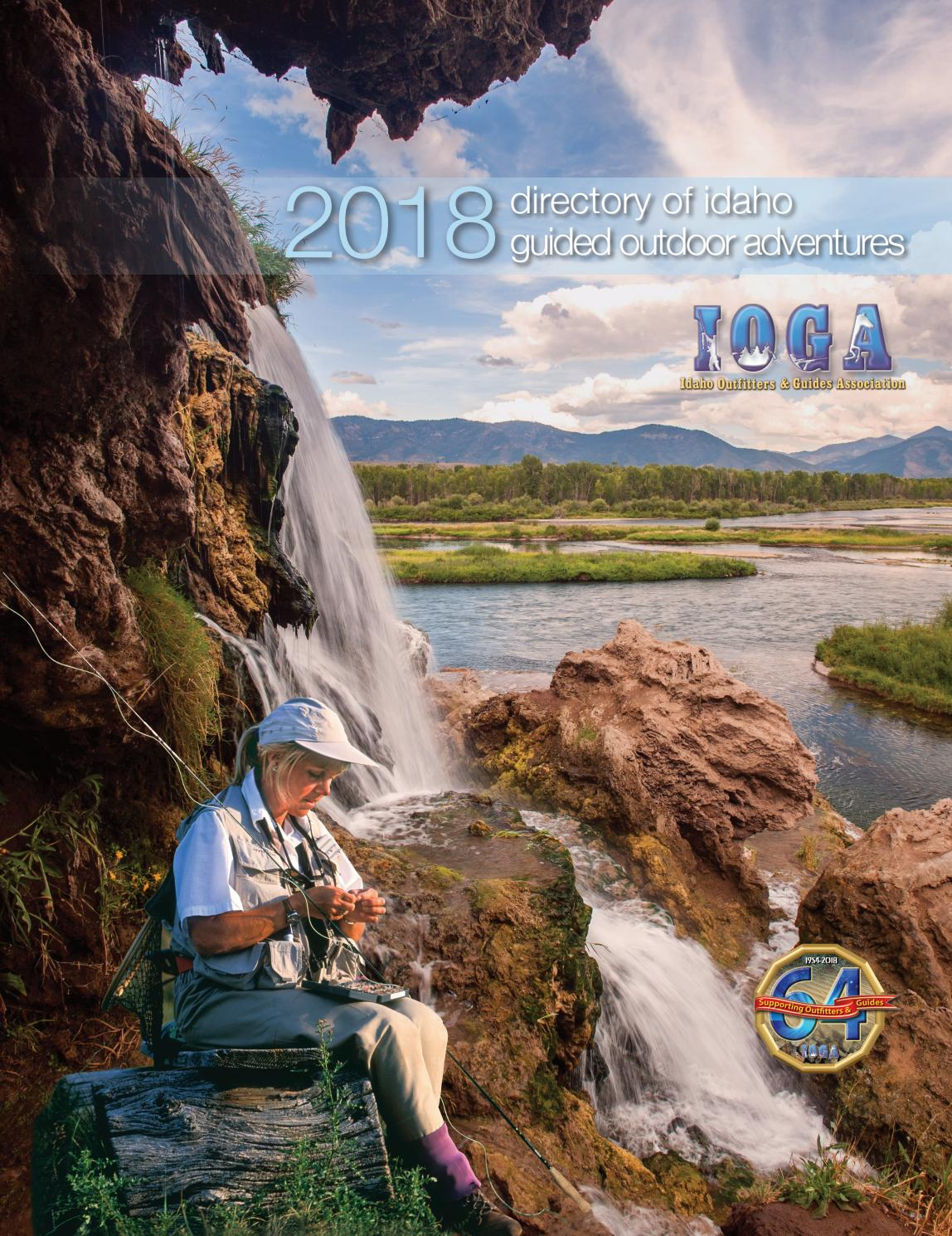 2018 Directory of Idaho Guided Outdoor Adventures by Visit