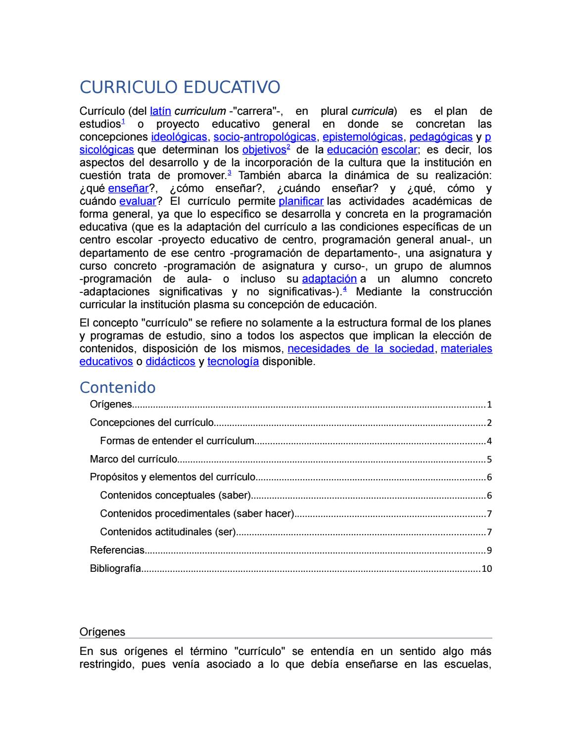 23 curriculo educativo by Esther Jimenez - issuu