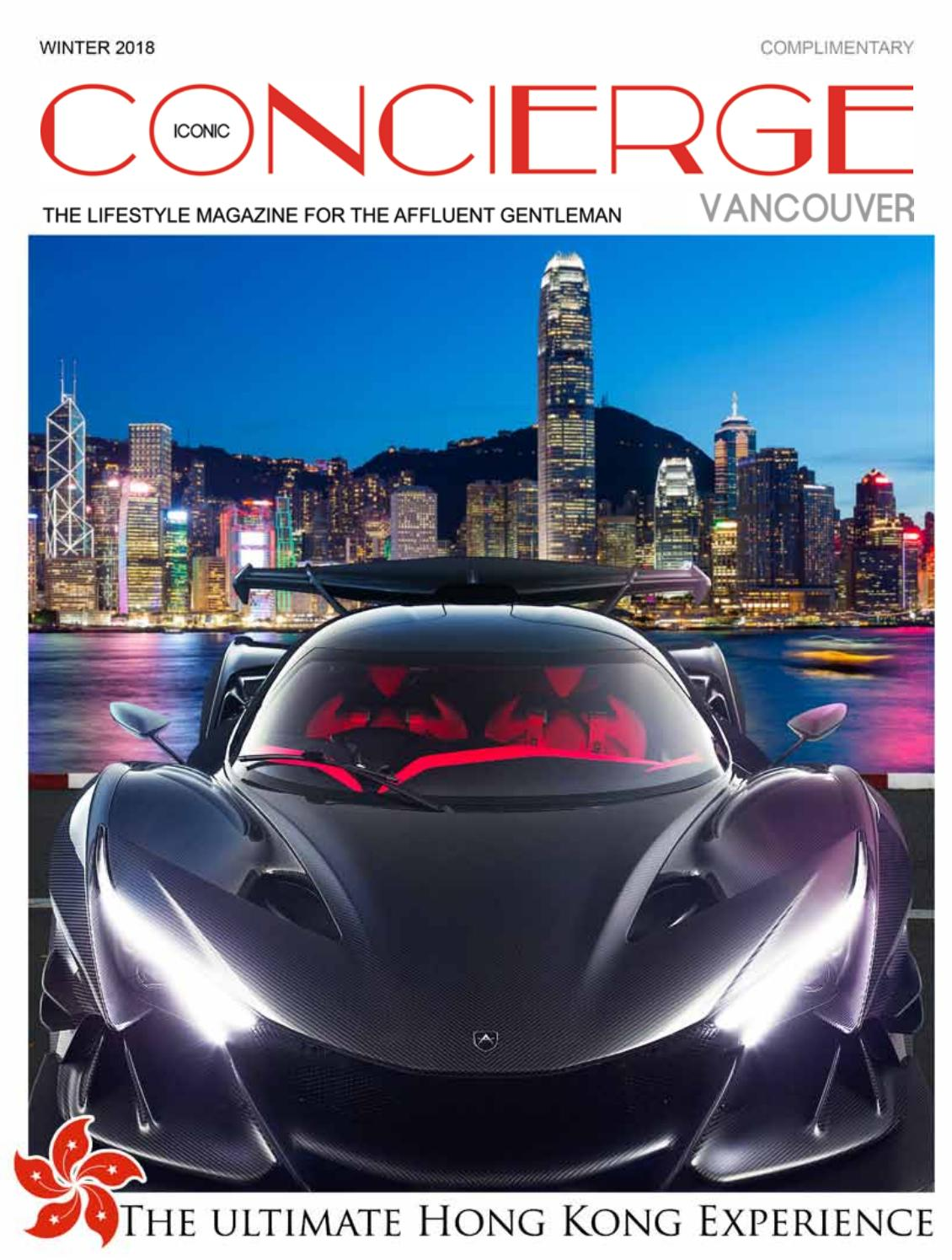 Iconic Concierge Vancouver Winter 2018 by Iconic Concierge