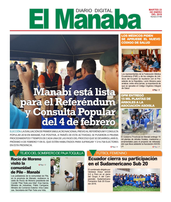 El manaba martes 23 de enero del 2018 by elmanaba - issuu 416a13f2d4b