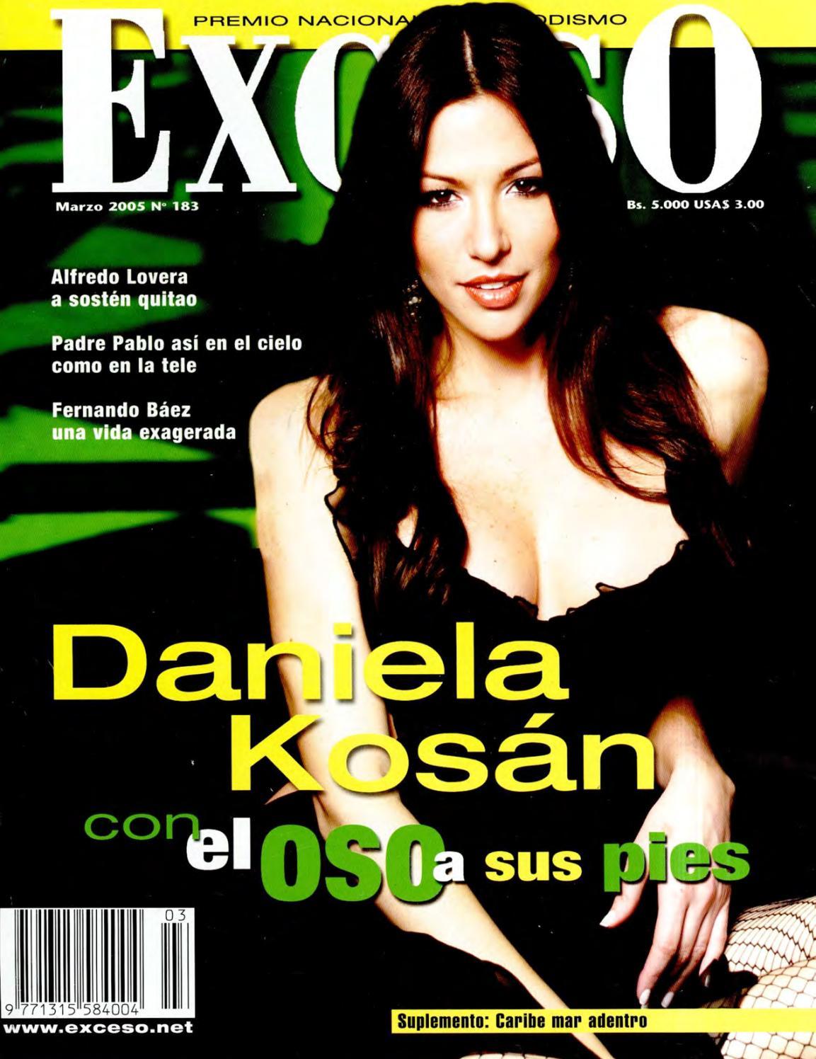 Revista Exceso Edici N N 183 Marzo 2005 By Revista Exceso 1988  # Muebles Tamara Fox Rancagua