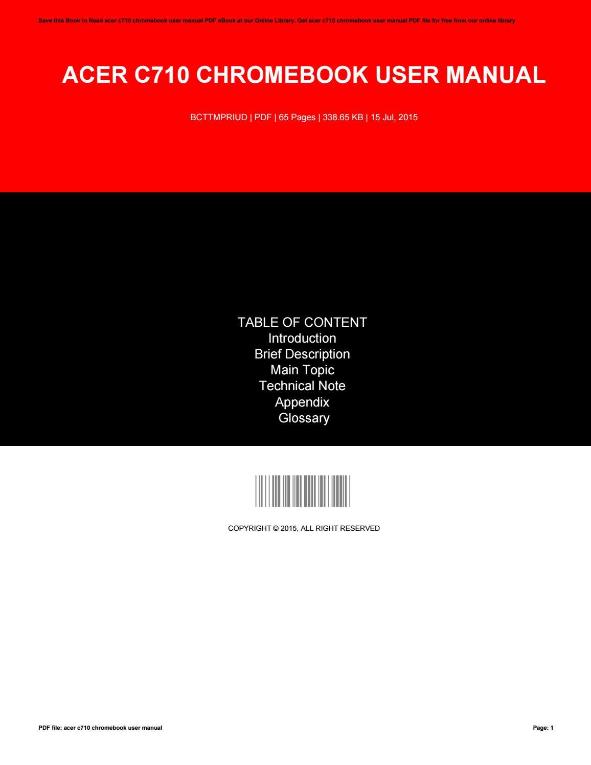 user guide for chromebook acer c710 chromebook user manual