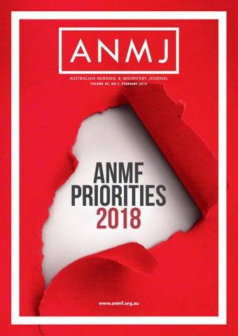 Anmj February 2018 By Australian Nursing Midwifery Journal Issuu
