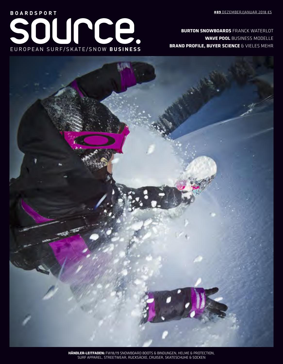 Boardsport Source, Issue 89, DecemberJanuary 2018 GERMAN by