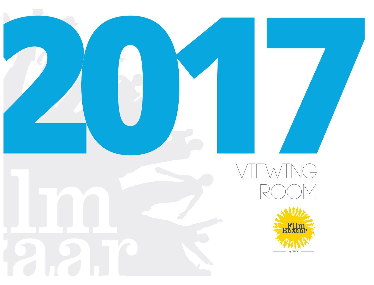 Viewing Room Catalogue 2017 by Film Bazaar - issuu