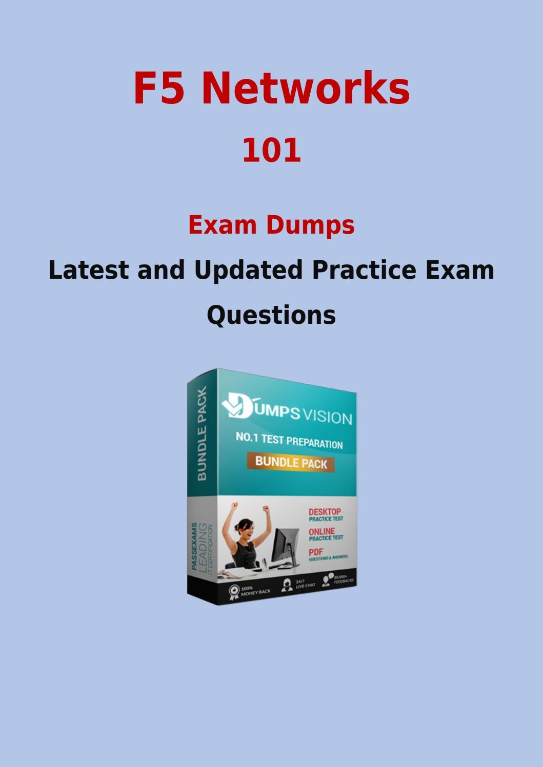 101 Test Prep With Real F5 Networks 101 Questions Answers And Vce By
