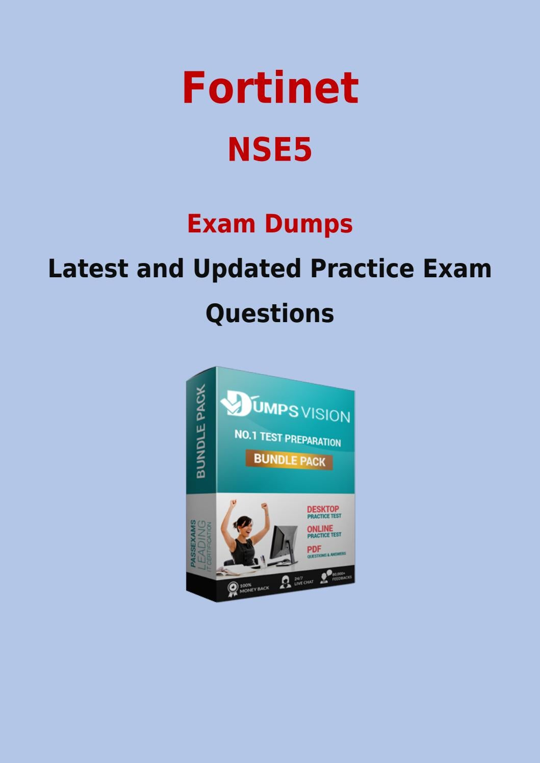 Nse5 Test Dumps Download Up To Date Fortinet Nse5 Pdf Questions By