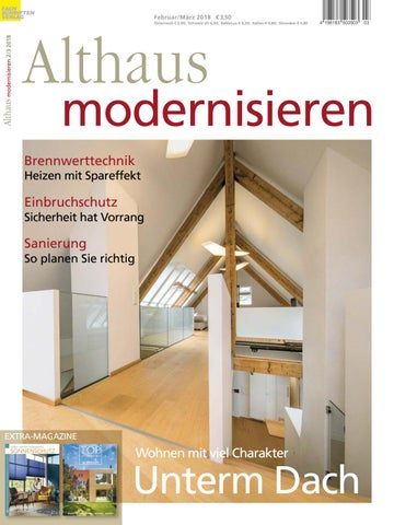 Althaus modernisieren 2/3-2018 by Fachschriften Verlag - issuu
