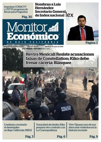 23 Enero 2018 By Grupo Multimedia Frontera Norte Issuu