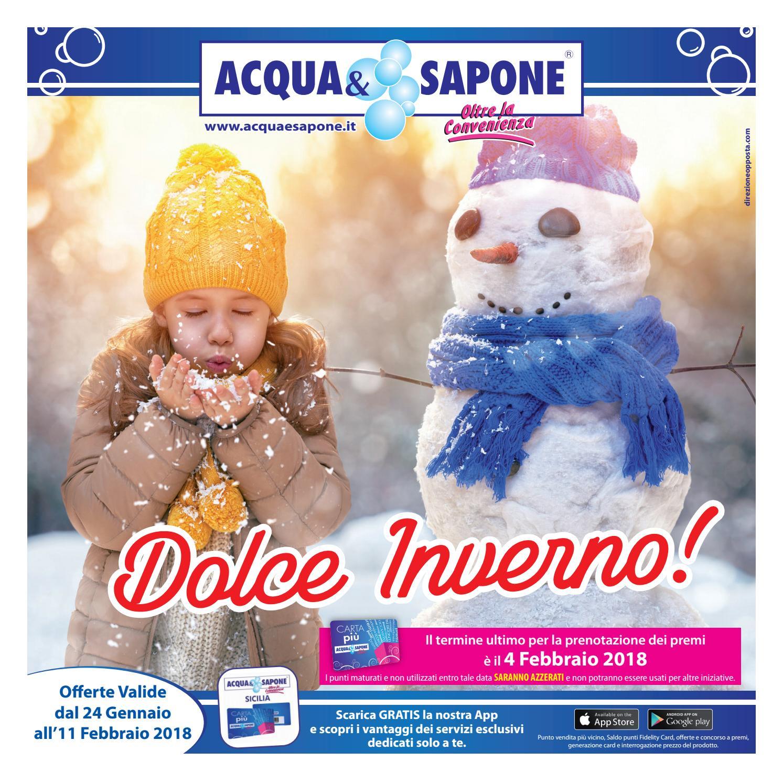 Volantino acqua sapone n 2 2018 by acqua sapone sicilia for Volantino acqua e sapone sicilia