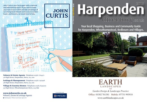 Harpenden Annual Directory 2018 By Whats On Herts Magazine