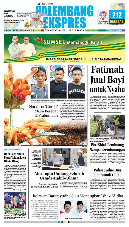 Palembang Ekspres Kamis 18 Januari 2018 By Issuu Penutup Toilet Duduk Otomatis Izen Ib 450