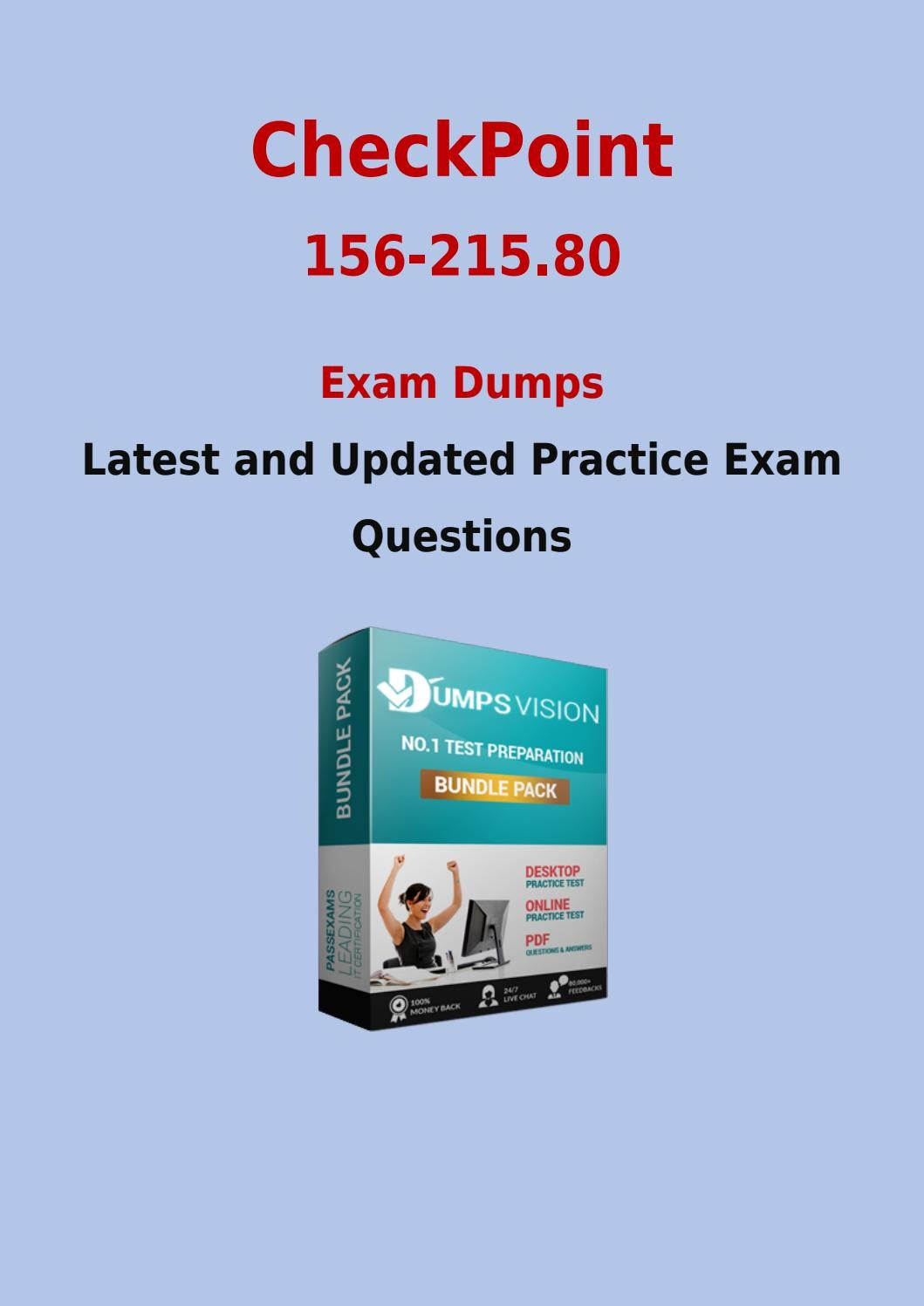 156 215 80 Exam Training Material Get Updated Checkpoint 156 215 80