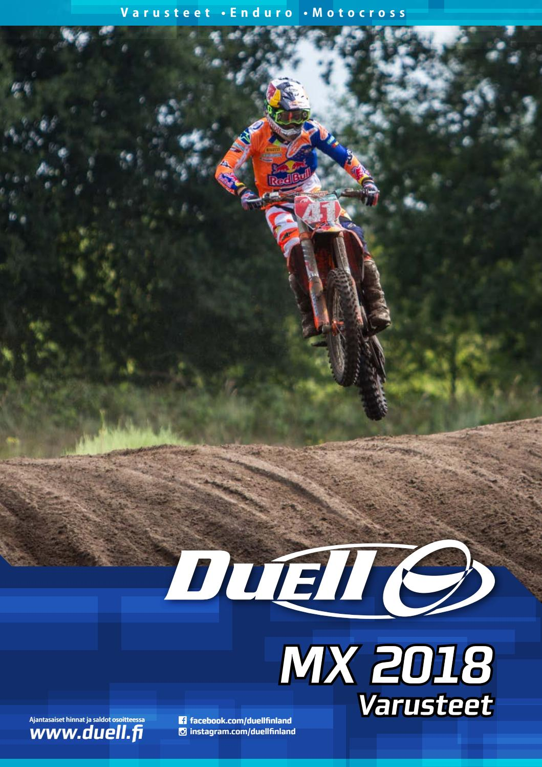 Mx varusteet 18 by Duell Bike-Center Oy - issuu 0197e24221