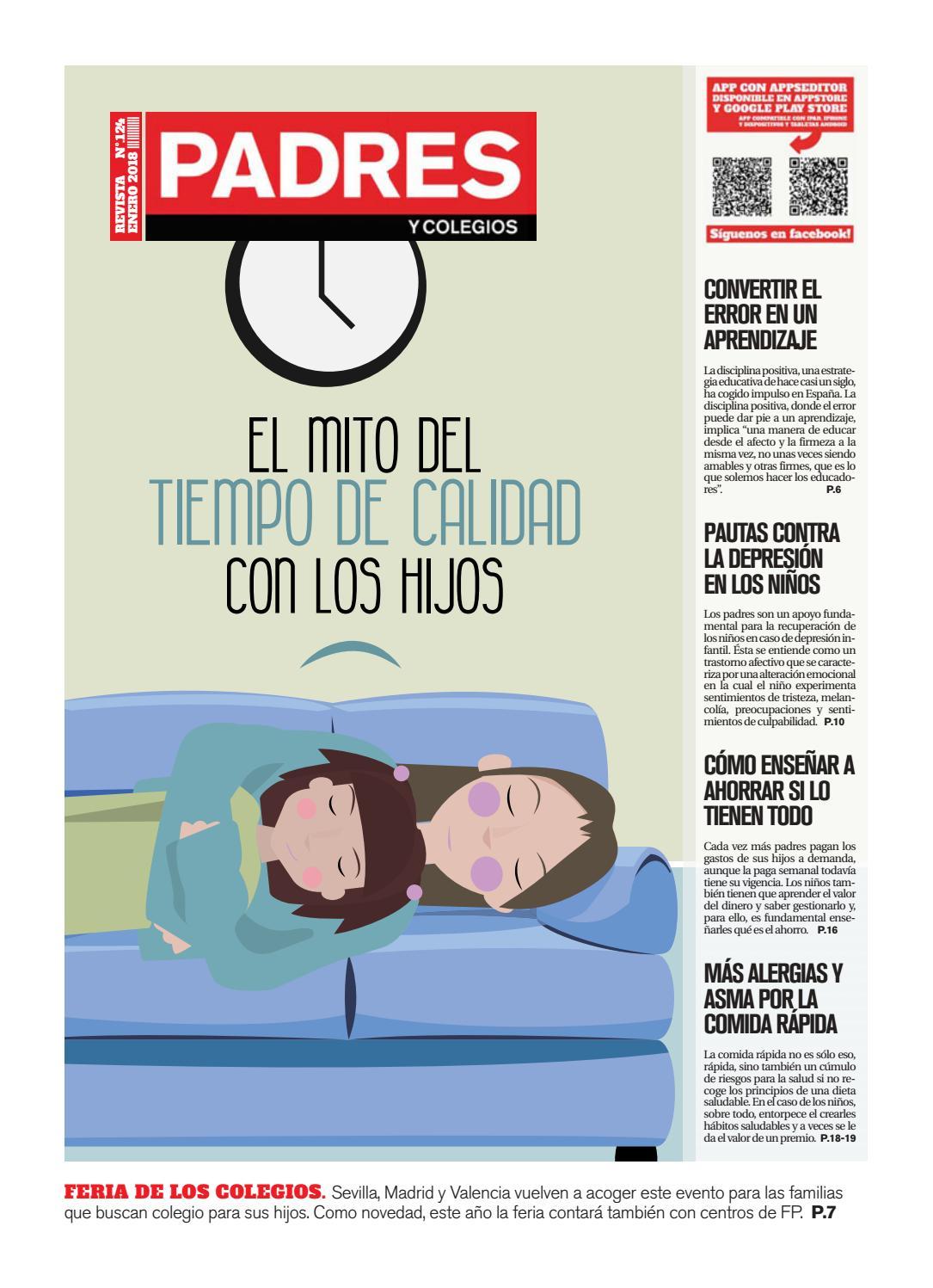 Padres y Colegios Nº 124 - enero 2018 by Grupo Siena - issuu