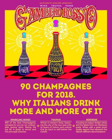 Gambero Rosso Wine Travel Food - January 2018 by Gambero