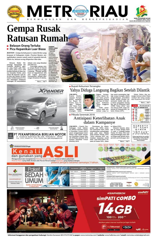 24012018 by Harian Pagi Metro Riau - issuu