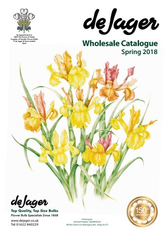 60576e55c De Jager Bulbs Wholesale Catalogue Spring 2018 by emma simpson - issuu