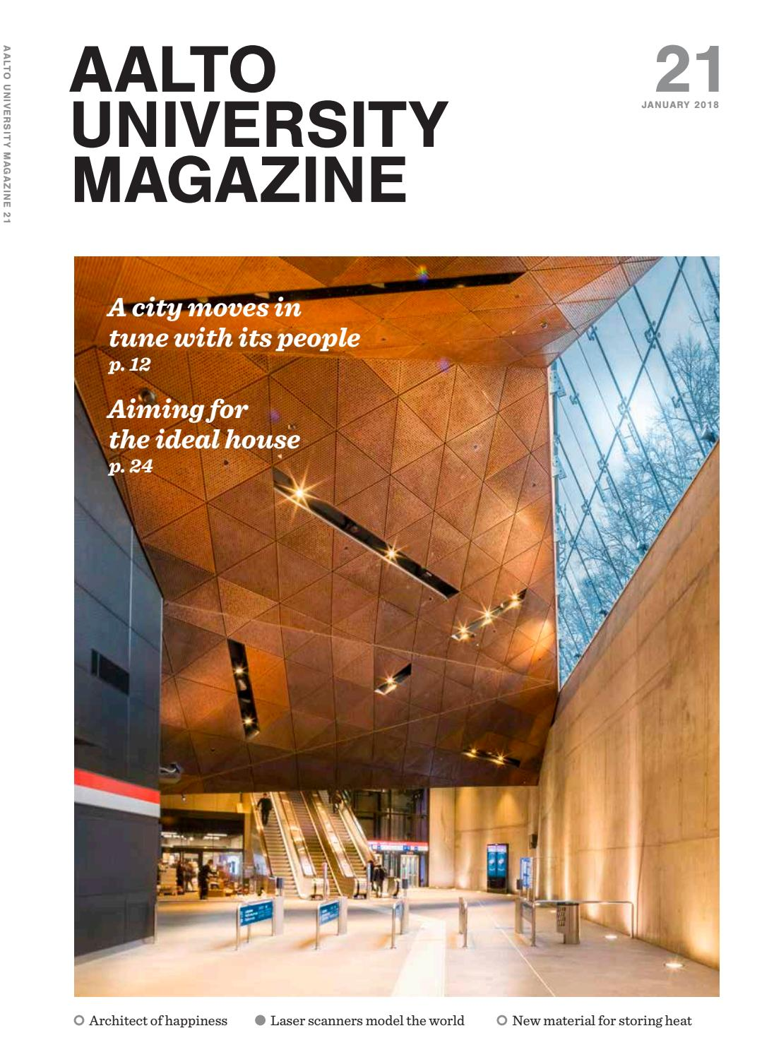 Aalto University Magazine 21 English Edition By Book Wiring Observation Room Experiment Issuu