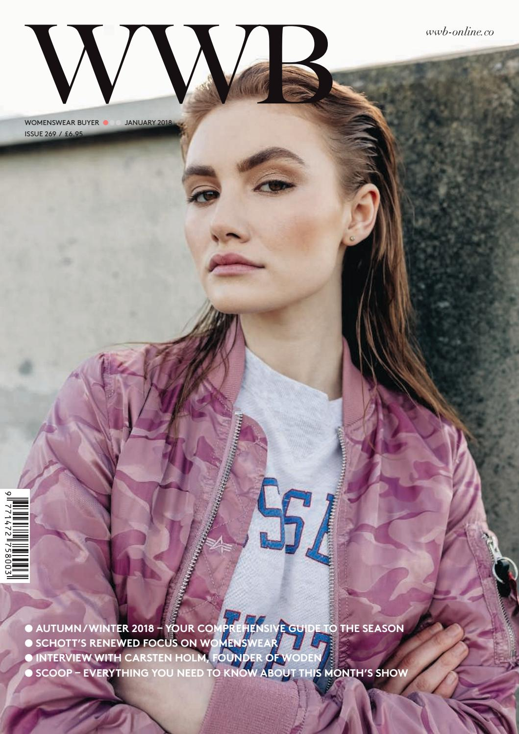 WWB MAGAZINE JANUARY 2018 ISSUE 269 by fashion buyers Ltd
