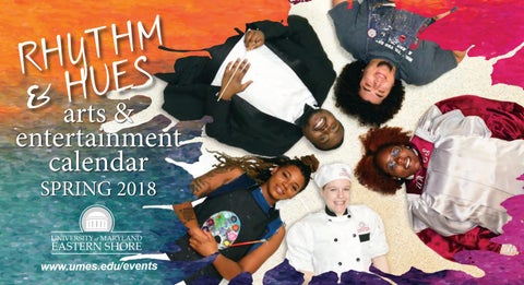 Arts & Entertainment Calendar Spring 2018 by University of ... Umes Map on marshall map, lafayette map, lipscomb map, mercer map, austin peay map, xavier map,