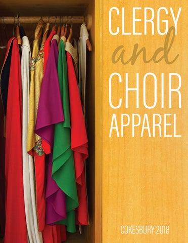 39183968653 Cokesbury s Clergy   Choir Apparel 2018 Catalog by United Methodist ...