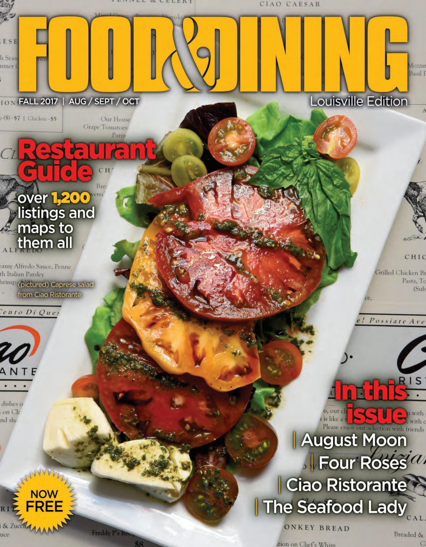 57c55b40a3baac Fall 2017 (vol 57) by Food   Dining Magazine - issuu