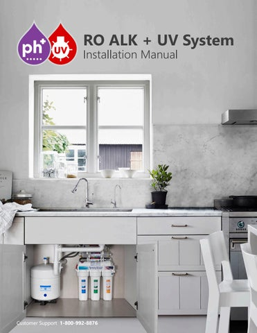 UV Light Purifier Ultraviolet Water Filter 12 inch Housing with 10 inch Bulb Express Water Under Sink and Reverse Osmosis System Sterilizer FLTUV110BCH