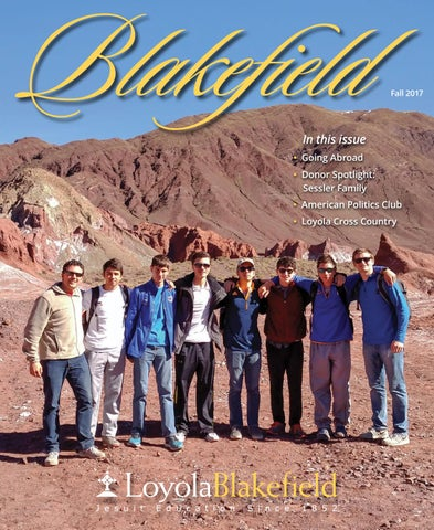 Loyola Blakefield Campus Map.Blakefield Magazine Fall 2017 By Loyola Blakefield Issuu