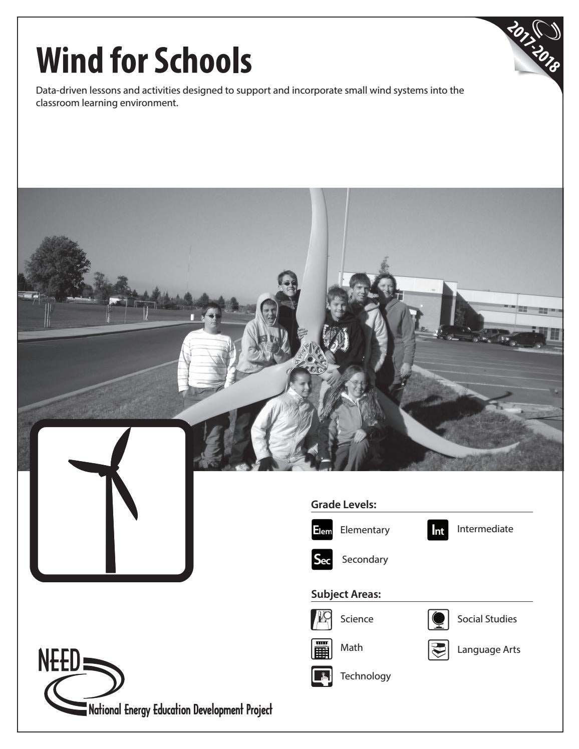 Wind For Schools By Need Project Issuu Residential Power Diagram In An 8 Mph Breeze With