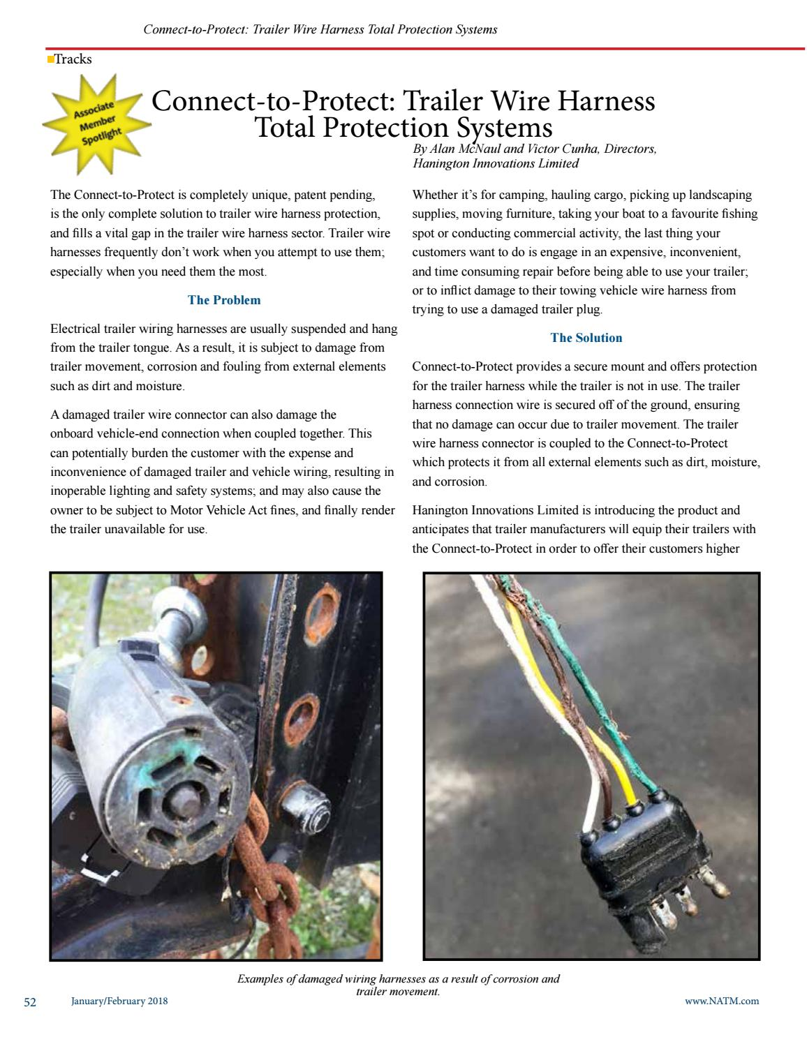 wiring harness protection january february 2018 tracks by natm issuu  tracks by natm issuu