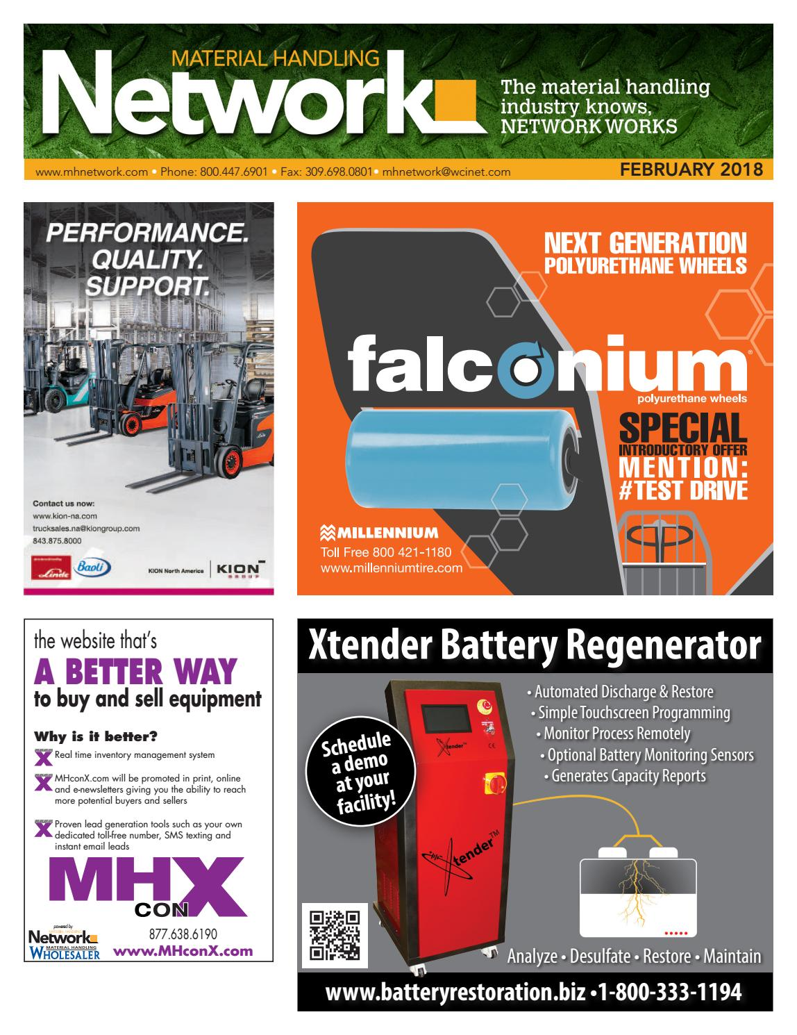 Material Handling Network February 2018 by Material Handling ... on