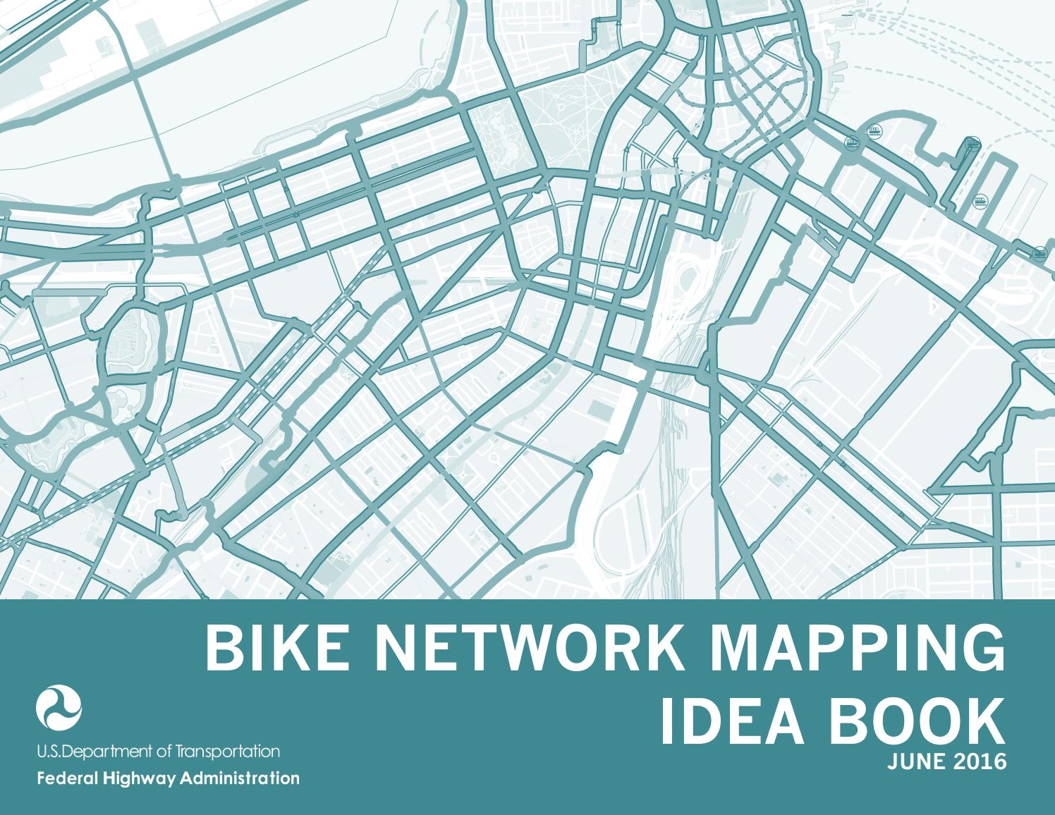 FHWA Bike Network Mapping Idea Book by Alta Planning + ... Ull Campus Map Moody on
