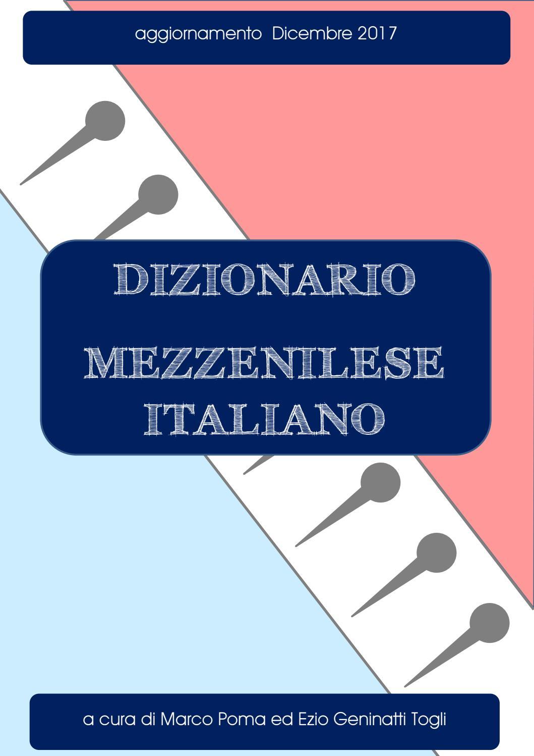 Mezzenile - Dizionario mezzenilese italiano - Marco Poma   Ezio Geninatti  Togli by marco poma - issuu a3dbf2f6babf