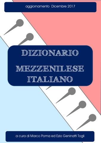 Mezzenile - Dizionario mezzenilese italiano - Marco Poma   Ezio ... 2f5cc9d495f0
