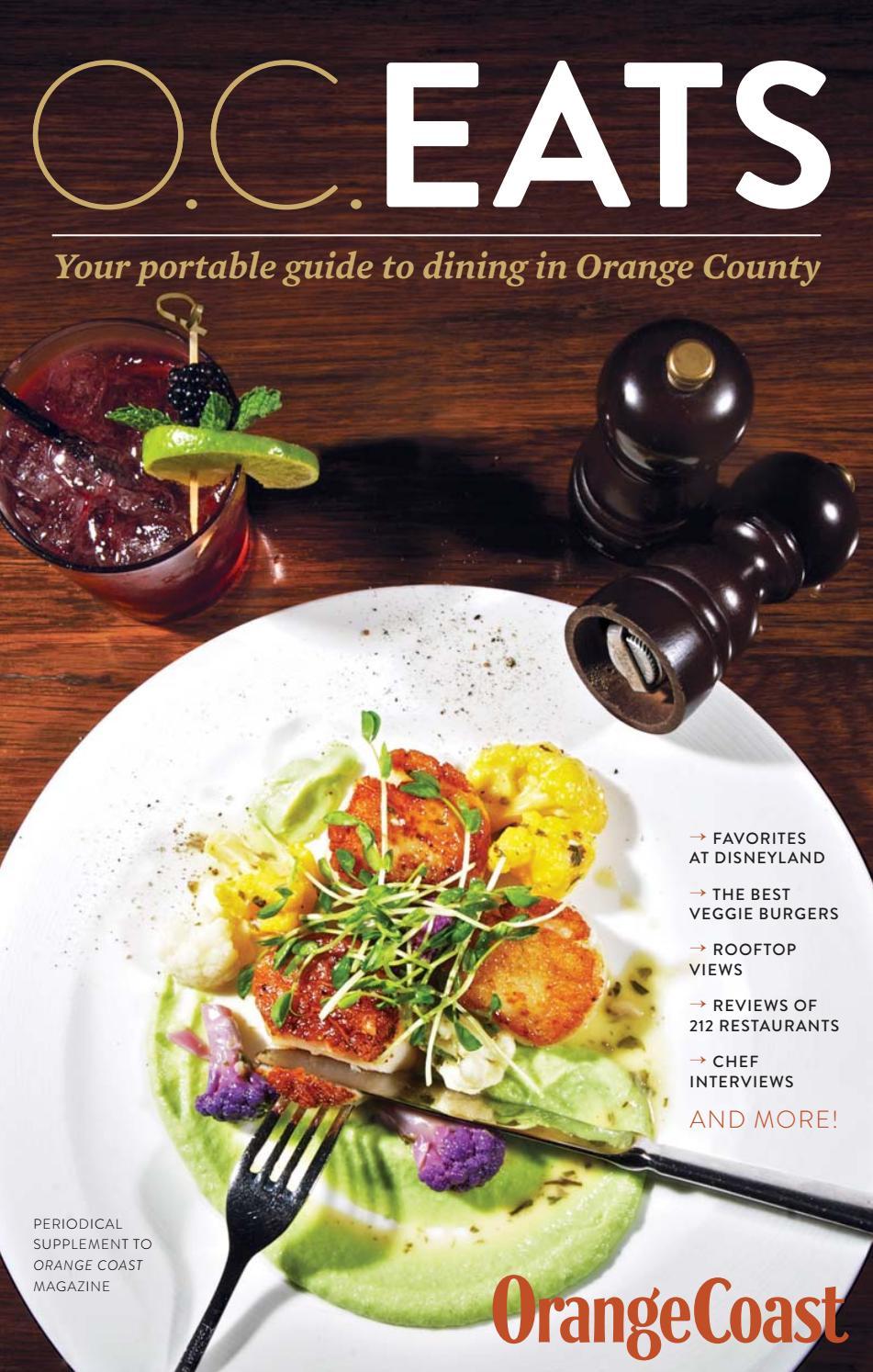 O.C.EATS 2018 by Orange Coast Magazine - issuu