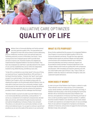 Page 12 of Palliative Care Optimizes Quality of Life