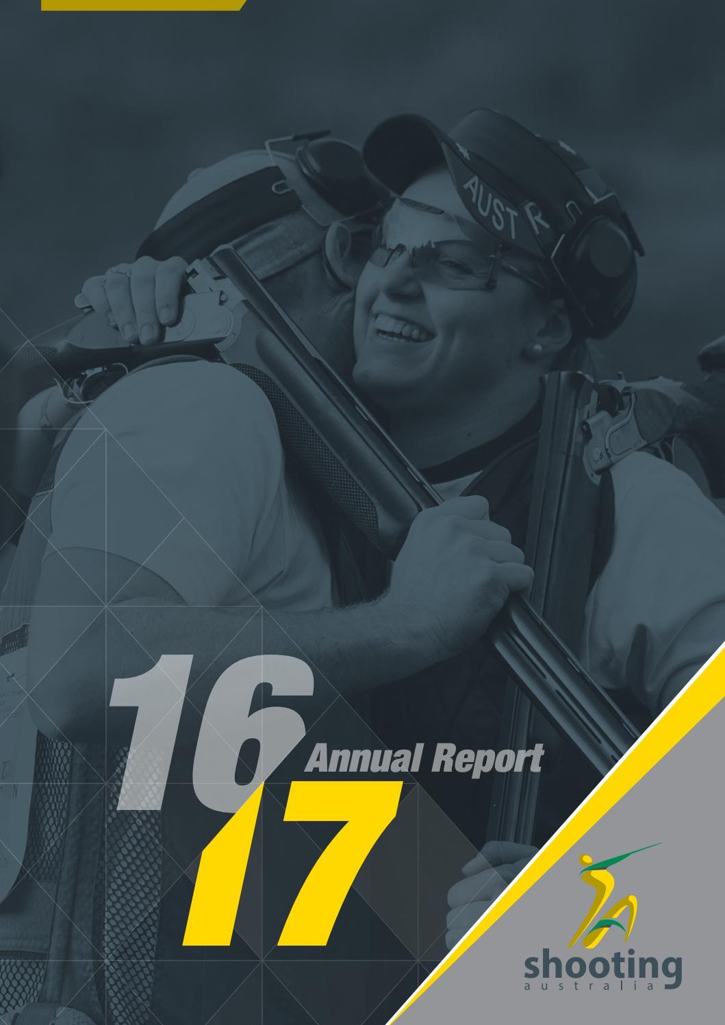 Aisl Shooting shooting australia annual report 2015-16shooting