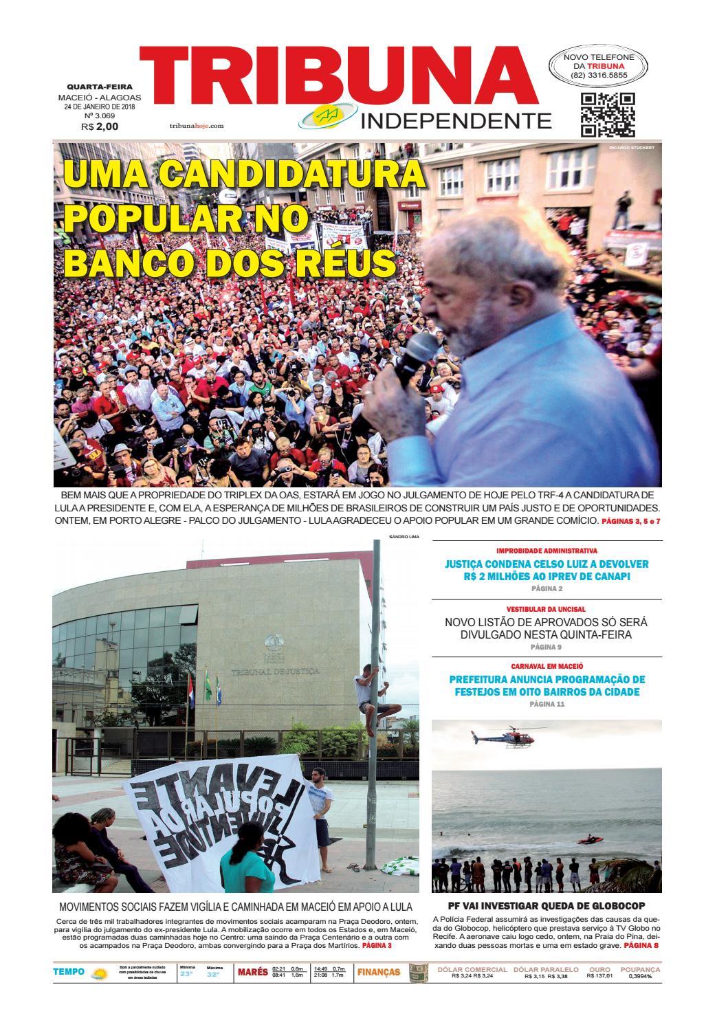 Edição número 3069 - 24 de janeiro de 2018 by Tribuna Hoje - issuu c1f1f04713