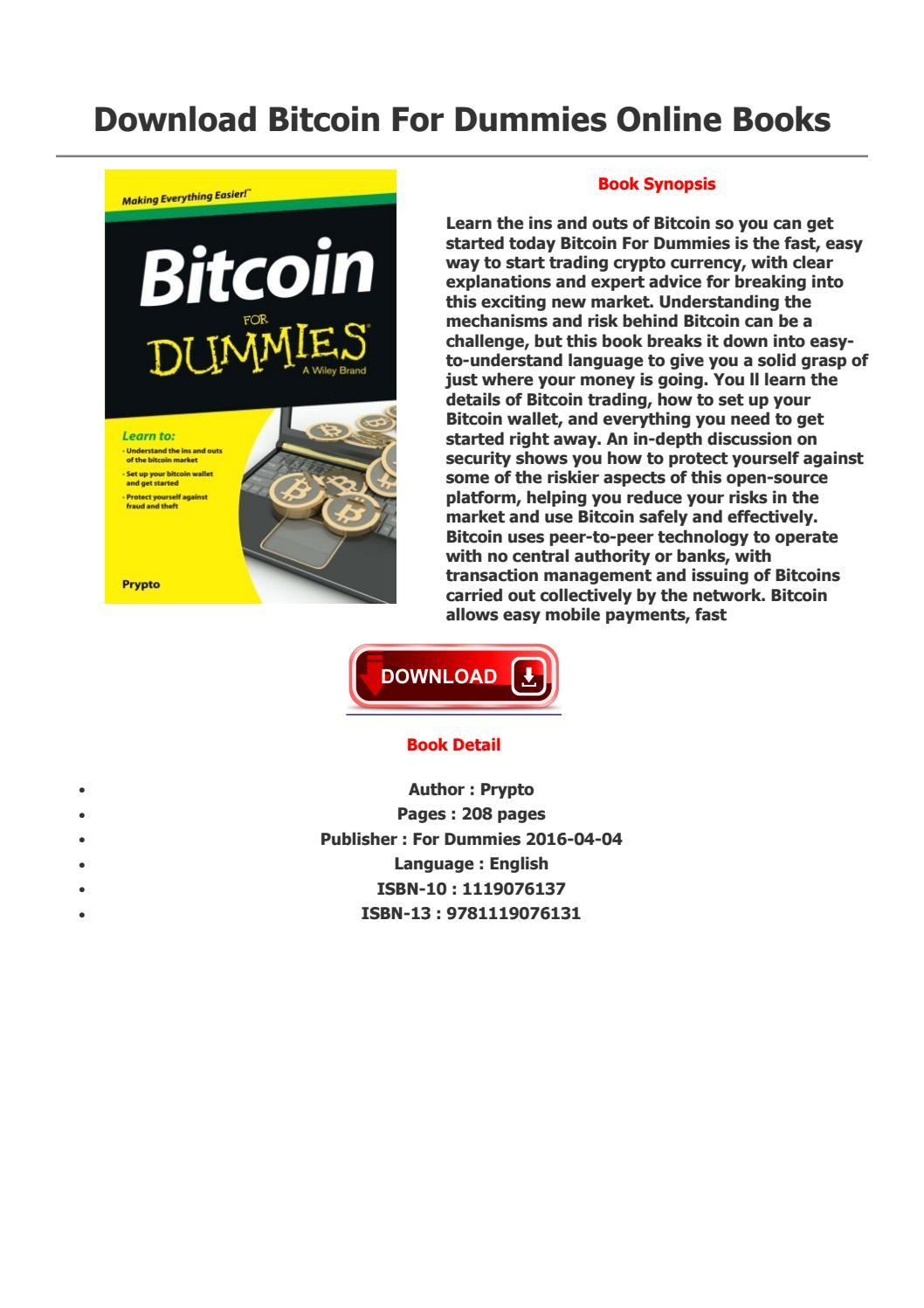 Scrypt based bitcoins for dummies david villa swansea bettingadvice